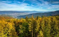 Widok z Szyndzielni, Beskid Śląski
