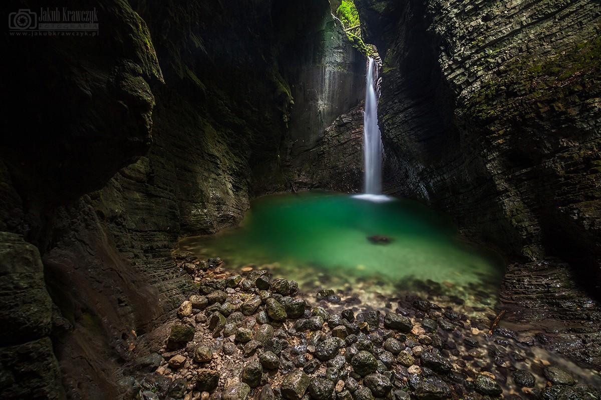 Wodospad Kozjak, Słowenia